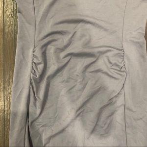 GAP Dresses - GAP Maternity Gray puff sleeved dress in NWT